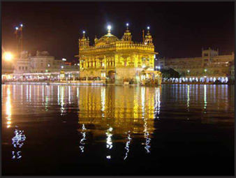 Harmandir Sahib (popularly known as The Golden Temple)