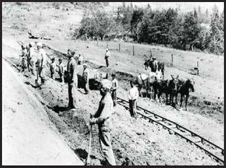Sikh workers on the Pacific Eastern Railroads, 1909