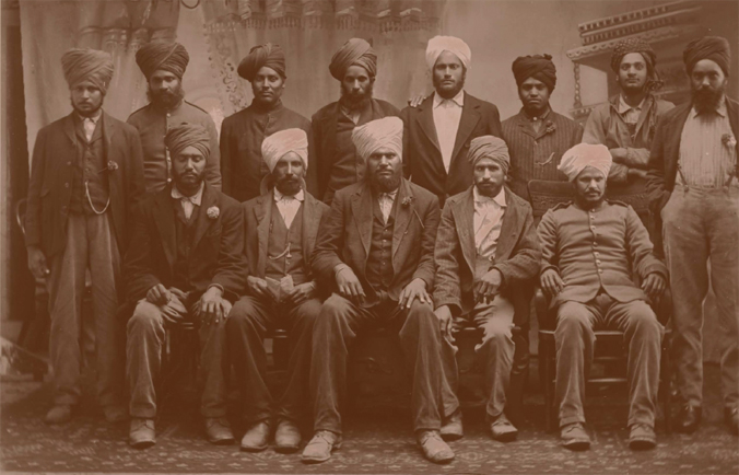 Citizens group photograph: SIKHS 1910.