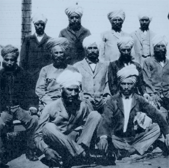 Immigrants on Angel Island (1916)
