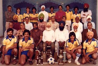 Punjabi Soccer Team