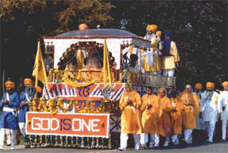 First Sikh Parade, 1980